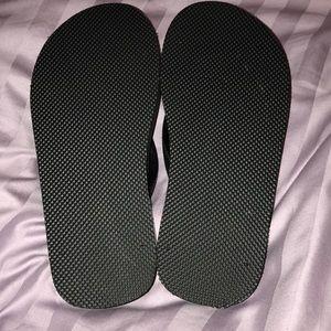 5570bbf2c4b7e J. Crew Shoes - J. Crew Black + Bamboo Flip Flops - 5